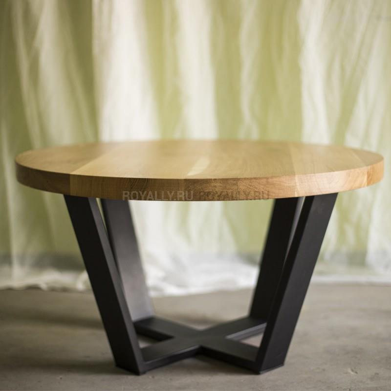 журнальный столик в стиле лофт R43 1