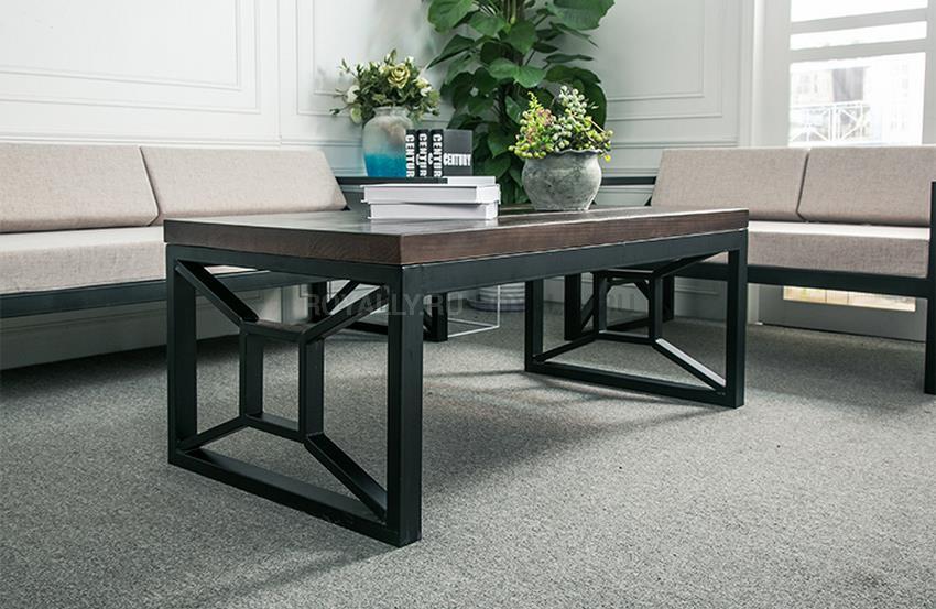 журнальный столик в стиле лофт R43 218